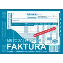 DRUK FAKTURA VAT - MP A5, 80 str., Michalczyk 151-3