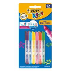 Flamastry Bic Mini Kid Couleur 12 kolorów