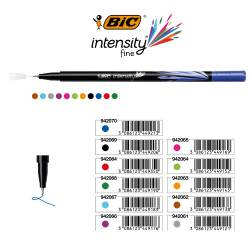 Cienkopisy INTENSITY FINE turkusowy 942067 BIC
