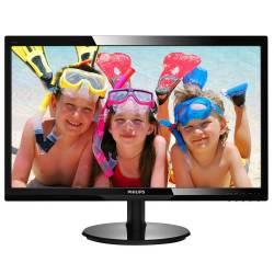 "Monitor Philips 24"" 246V5LDSB/00 VGA DVI HDMI"