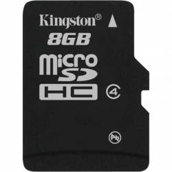 Karta pamięci KINGSTON Micro Secure Digital 8 GB Class-4 MicroSDHC
