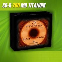 CD-R Titanum 56x 700MB (Slim 10)