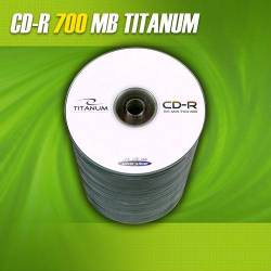 CD-R Titanum 56x 700MB (Spindle 100)