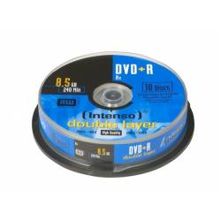 DVD+R Intenso 8.5GB X8 DOUBLE LAYER (10 CAKE)