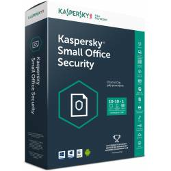 Licencja BOX Kaspersky Small Office Security 1SVR+10WS