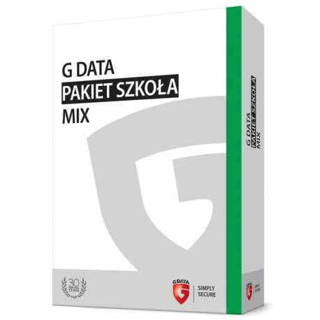 G DATA Pakiet Szkoła MIX BOX do 100PC 3 LATA