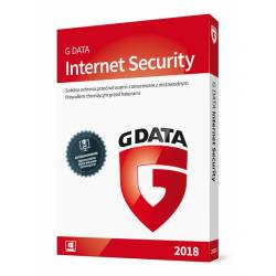 G DATA Internet Security 2018 BOX 1PC 1ROK