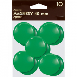 Magnes 40mm GRAND (10 szt) zielony