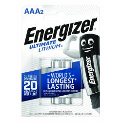 Bateria ENERGIZER Ultimate Lithium, AAA, L92, 1, 5V, 2szt.