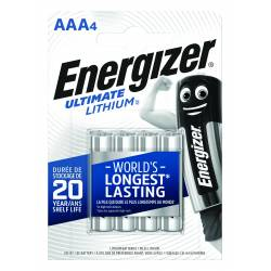 Bateria ENERGIZER Ultimate Lithium, AAA, L92, 1, 5V, 4szt.