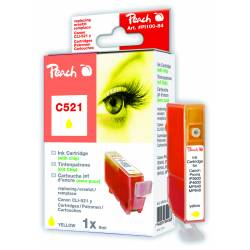 Tusz PEACH R Canon CLI-521Y, 2936B001 (do Pixma IP 3600), yellow