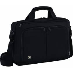 Torba na laptopa WENGER Source, 14', 380x260x60mm, czarna
