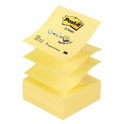 Bloczek samoprzylepny Post-it Z-Notes R-330 76x76mm, 100 kart., żółty