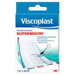Plaster do cięcia VISCOPLAST Prestovis Plus, supermocny, 8cmx1m
