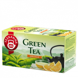Herbata Teekanne Green Tea Orange (20 torebek) 5901086002610