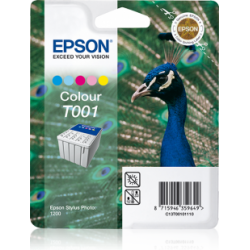 Tusz Epson T001 do Stylus Photo 1200, 66ml, C/LC/M/LM/Y