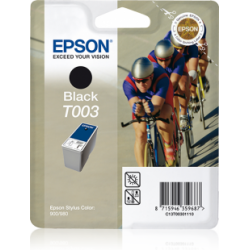 Tusz Epson T003 do Stylus Color 900/900N/980, 34ml, black