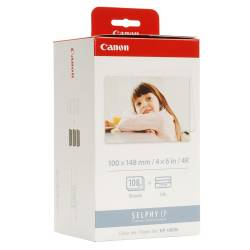Papier Canon KP-108IN do CP100/220/800, 100x145mm, 3 x 36 ark.