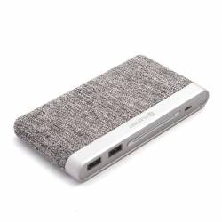 Power Bank Platinet | 10000mAh | 2x USB | Light gray