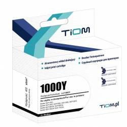Tusz Tiom do Brother LC1000Y, DCP130C/MFC240C, yellow