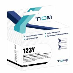 Tusz Tiom do Brother LC123, DCP-J132/MFC-J4410DW, yellow
