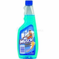 Płyn do szyb Mr. Muscle 500ml niebieski