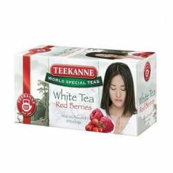 Herbata Teekanne white tea Red Berries (20 torebek)
