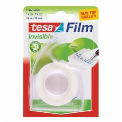 Taśma biurowa tesafilm invisible 33m x 19mm + dyspenser Easy Cut Tesa
