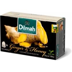 Herbata Dilmah - ginger & honey tea (20 torebek)