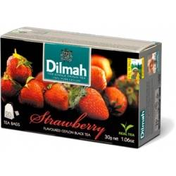 Herbata Dilmah - strawberry tea (20 torebek)